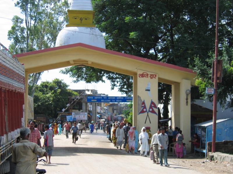 Nepal-India-border