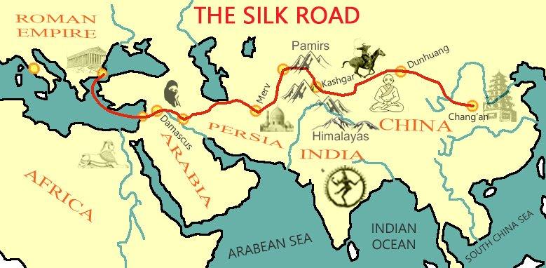 silk road ile ilgili görsel sonucu