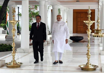 Prachanda consults with Modi on border disputes |